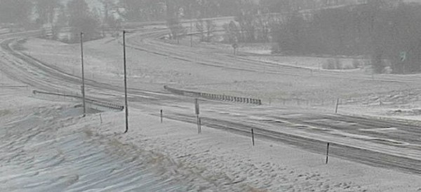 Snowfall on the Wyoming interstate that caused roads to be shut down for an extended period of time